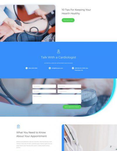 Doctors Office Service Web Template