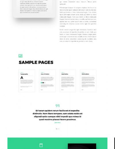 ebook product web template