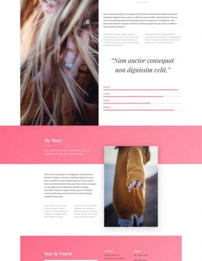 Fashion Designer Web Template