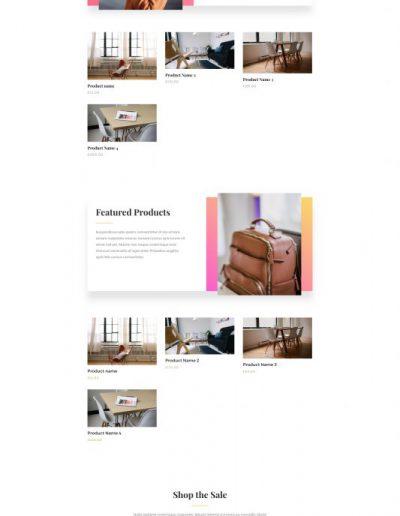 Fashion Shop Web Template