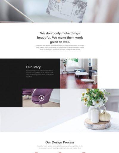 Interior Design About Web Template