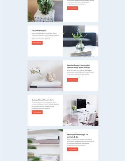 Interior Design Portfolio Web Template