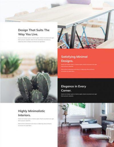 Interior Design Services Web Template
