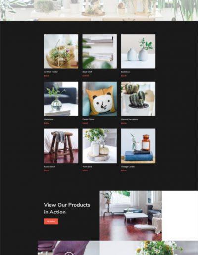 Interior Design Shop Web Template